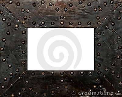 metal frame stock photos image 17437193
