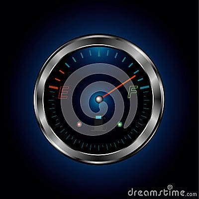 Metal fuel level