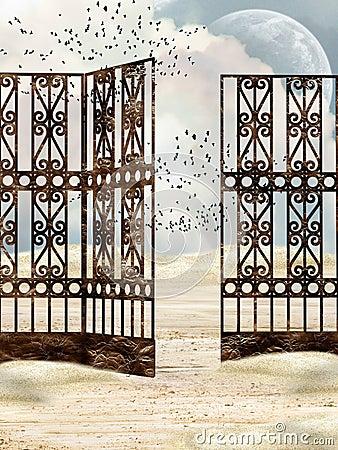 Metal gate