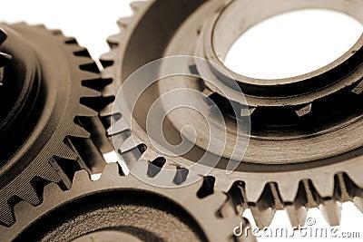 Metal gear cogs