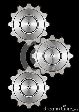 Metal gear system