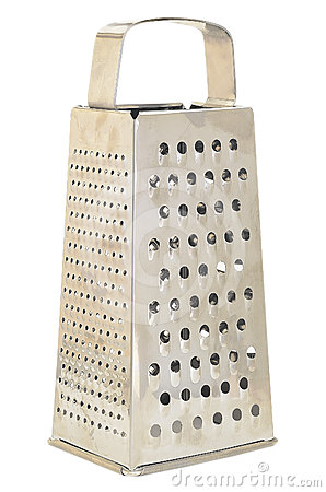 Metal grater with handle