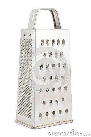 Metal grater for vegetables