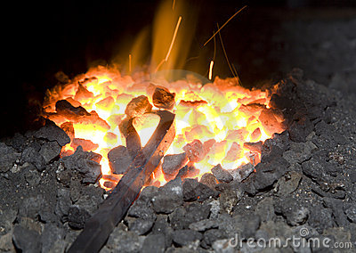 Metal in the hearth