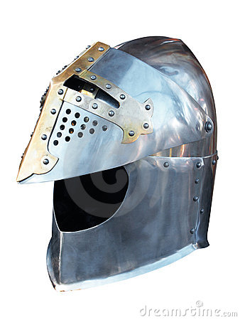 Free Metal Helmet Of The Knight Stock Image - 16030411