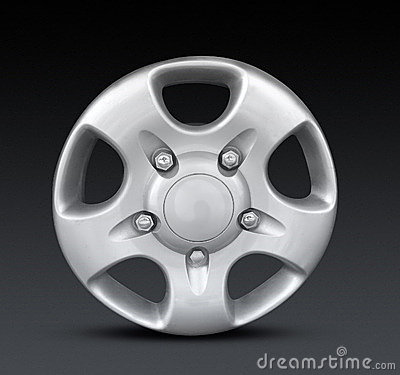 Free Metal Hubcap Or Wheel Trim Royalty Free Stock Image - 7898976