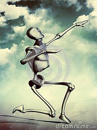 Metal humanoid