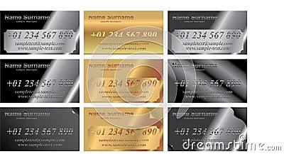 Metal identity cards