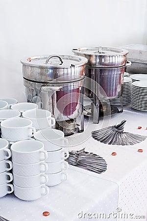 Metal kitchen equipments
