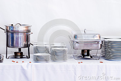 Metal kitchen equipments