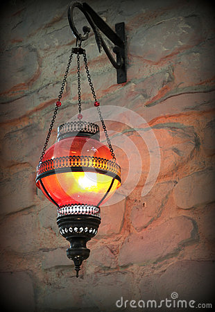 Free Metal Lantern Royalty Free Stock Image - 35260306