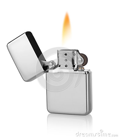 Free Metal Lighter Stock Image - 49883771