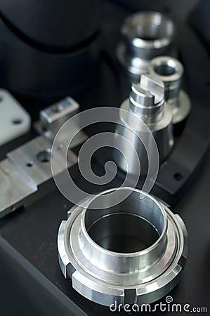 Metal machine parts