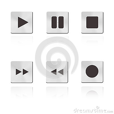 Metal music Button