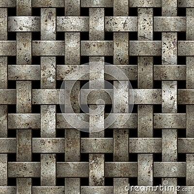 Free Metal Net Seamless Background. Stock Photos - 23272433