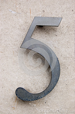 Metal Number Five