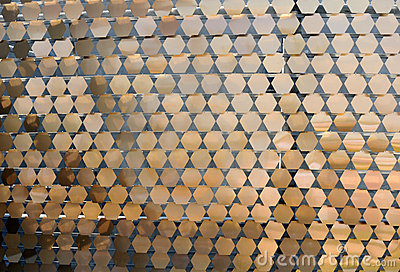 Metal ornamental pattern