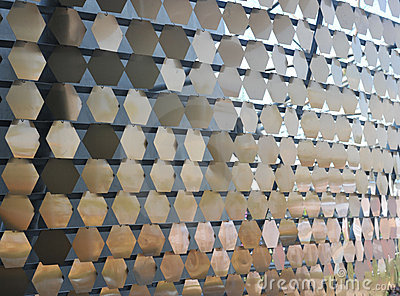 Metal ornamental pattern