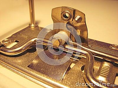 Metal parts of binder