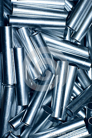 Metal pipe background