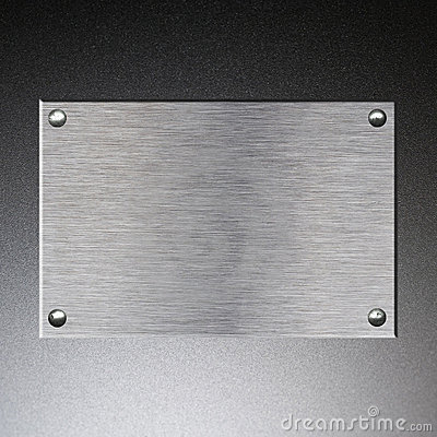 Free Metal Plate Background Stock Photography - 13903622