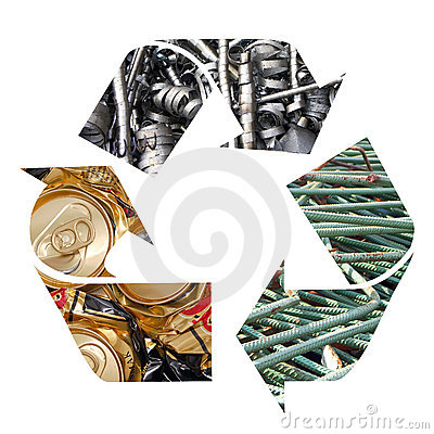Free Metal Recycling Royalty Free Stock Photo - 1990825