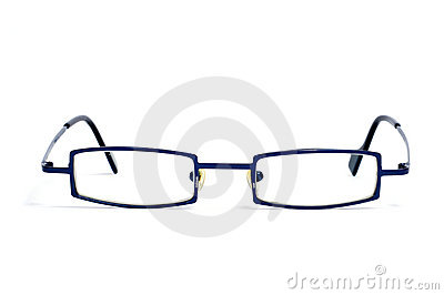 Metal-rimmed glasses