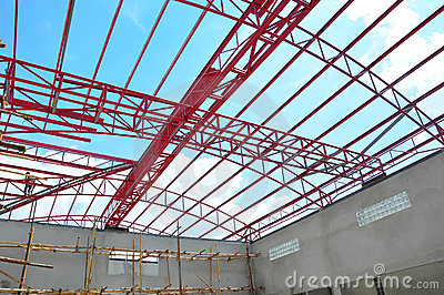 Metal roof construction