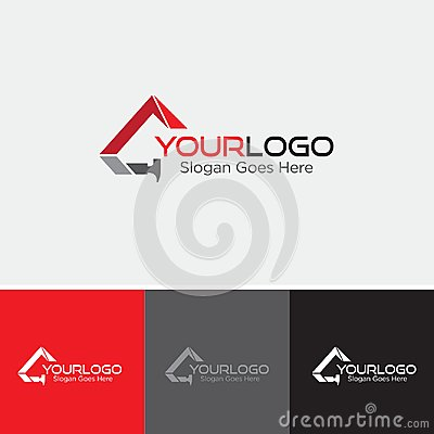 Free Metal Roof Logo Stock Photography - 107085672