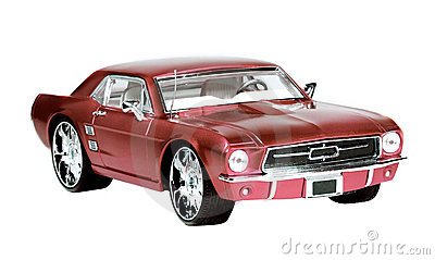 Metal scale toy car