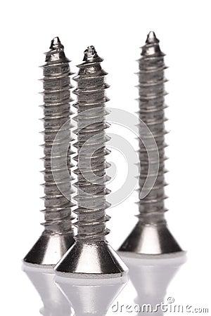 Metal Screws Macro