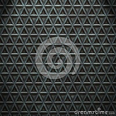 Metal seamless steel background