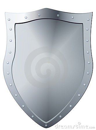 Metal shield.
