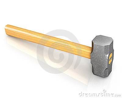 Metal sledge hammer