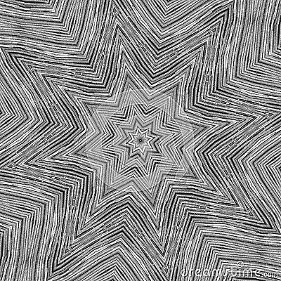 Metal star kaleidoscope