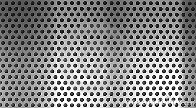 Metal Steel Holed Or Perforated Grid Background Royalty Free Stock ...