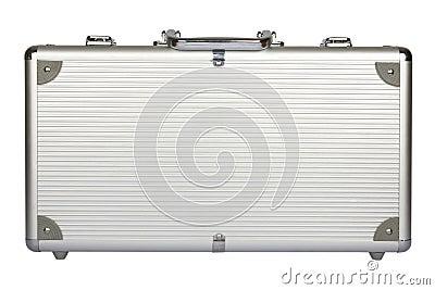 Metal suitcase