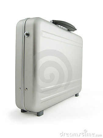 Metal suitcase, luggage