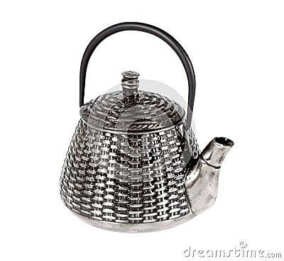 Metal teapot for tea