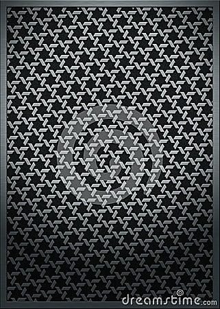 Metal texture mesh pattern