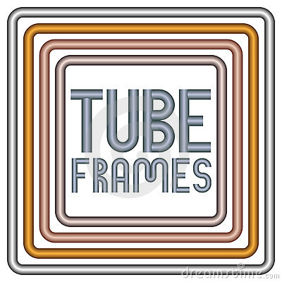 Metal tube frames