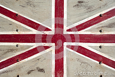 Metal United Kingdom flag