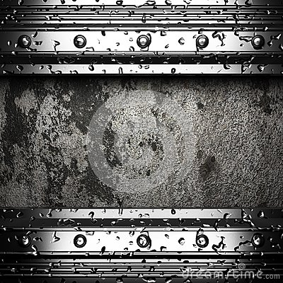 Metal on the wall