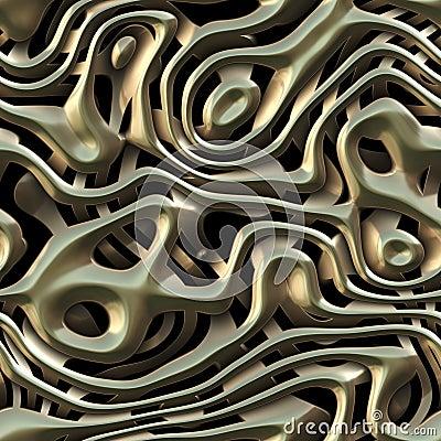 Metal weave texture