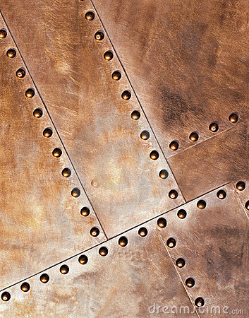 Free Metal With Rivets Royalty Free Stock Photo - 8503325