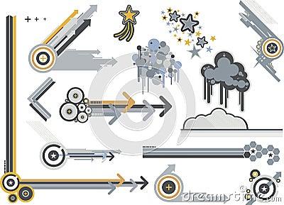 Metales gráficos de los elementos