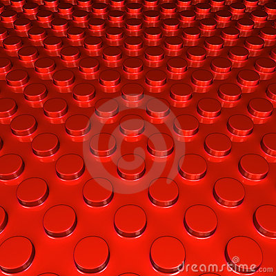 Metalic red round shape pettern background