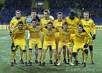 Metalist - Debreceni UEFA football match Editorial Photography