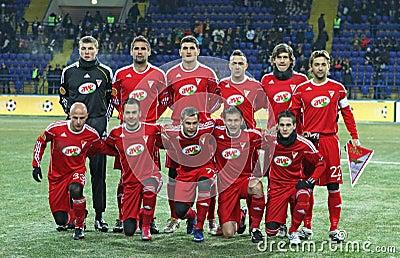 Metalist - Debreceni UEFA football match Editorial Photography