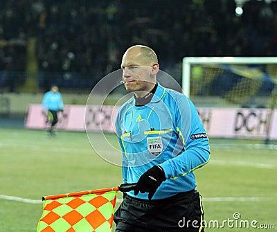 Metalist - Debreceni UEFA football match Editorial Image